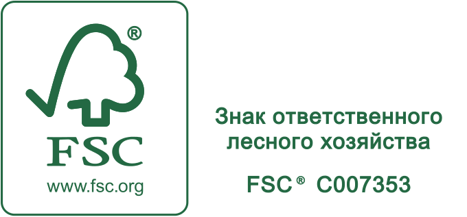 FSC-сертификат на фанеру; FSC License Code - FSC-C007353